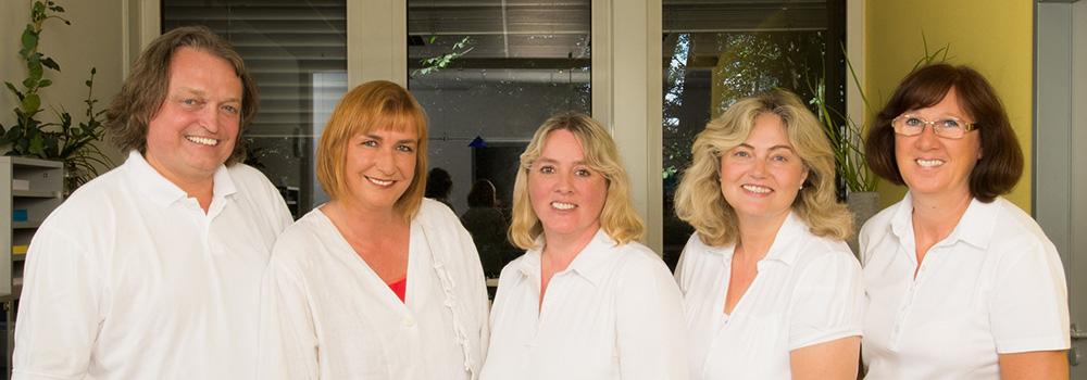 Praxisteam der Bielefelder Praxis für Proktologie und Kompetenzzentrum für Coloproktologie Facharzt für Chirurgie Stefan Kaiser, Bielefeld